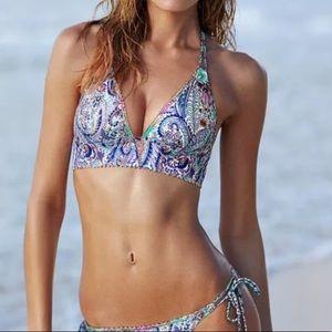 Victoria's Secret Paisley Triangle Hipster Bikini